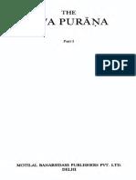 Siva Purana - J.L.shastri - Part 1_text
