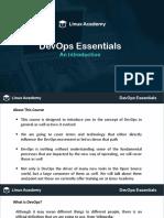 Linuxacademy Devops Slides