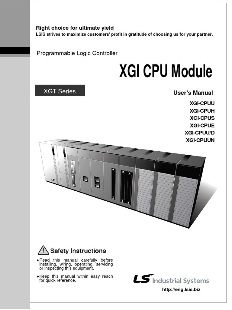Manual Xgi Cpu Eng Programmable Logic Controller Electrical Wiring Stripboard Relay Shield Circuit Diagram Click For A Bigger Image