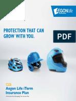 Aegon Life Base Plan Brochure