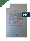 Musil Robert - Sobre La Estupidez.doc