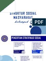 Presentasi Sospol Struktur Sosial Masyarakatt