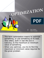 Optimization--Teshon Durairaj