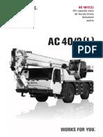 AC 40 2L Datasheet Metric