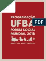 Forum Social Mundial Programacao