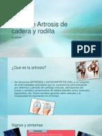 Taller de Artrosis de Cadera y Rodilla