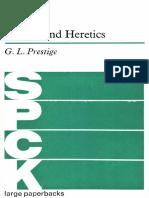 Prestige, G.L. - Fathers and Heretics