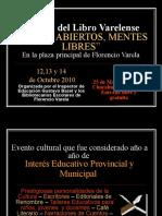Invitación Feria Del Libro