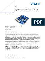 MosfetSIC , Trad High Frequency Evaluation Board for 7l d2pak