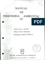 Manual de Ingeniería Ambiental III