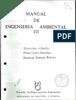 Manual de Ingeniería Ambiental III