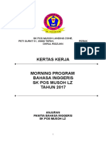 Kertas Kerja Morning Program