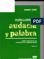 Audacia y Palabra Maurice Ogier Tomo III