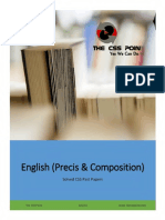 English (Precis & Composition) Solved CSS Papers.pdf