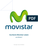 Manual instalacion de Escritorio movistar