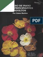 312046876 Curso de Piano Para Principiantes y Adultos Por James Bastien Nivel I Text