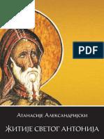 Atanasije Aleksandrijski - Zitije Svetog Antonija