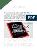 Discos SSD Con Memorias TLC vs MLC-1