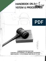 Handbook on Legal System & Procedure