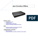 Router Livebox Fibra