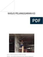 KASUS PELANGGARAN K3