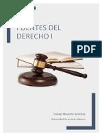 Apuntes Fuentes Del Derecho i