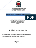 Introducion Analisis Clase I