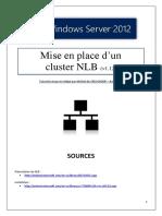 140130220 Mise en Place d Un Cluster NLB Tuto de a a Z