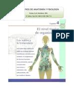 """Material de Tejidos Libro Tortora """"PRINCIPIOS DE ANATOMÍA Y FISIOLOGÍA"""""""