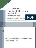 117268799 6 RPL Pemodelan Spesifikasi Kebutuhan Ppt