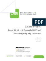 CASE - Excel 2010 Is a Powerful BI Tool for Analyzing Big Data Sets.pdf