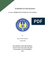 Business Report on Job Training