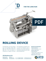 Atd Cig Rolling Device