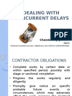 CPD in Doha, Jan 2015, on Concurrent Delays