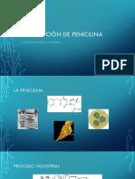 Producción de Penicilina
