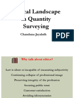 CPD on Ethical Landscape in Quantity Surveying (Bahrain 2016)