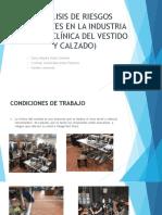 Análisis de Riesgos Presentes en La Industria Textil Presentacion Final