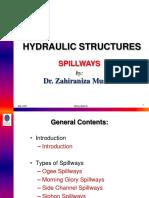 Hydraulic Structures Spillways