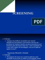 Curs 6 - screening.ppt