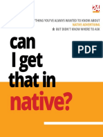 can I get that in native?