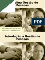 Aula 02 e 03 - Gestão de Pessoas (set-10)