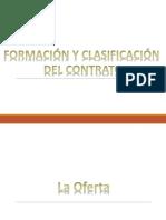 3. Formación y Clasificación Del Contrato
