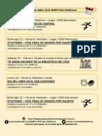 ACTIVIDADES ABRIL 2018 AMPA COLEGIO SAN ILDEFONSO MADRID