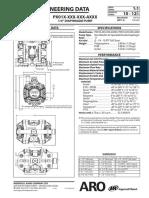 ARO PD01P HKS KAA a 1 4 Inch Non Metallic Diaphragm Pump Manual