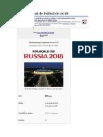 Copa Mundial de Fútbol de 2018