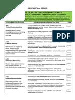 artanddesign-assessment-objective-checklist