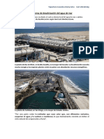 La Desalinización Del Agua de Mar