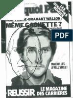 Olof Palme Brabant Wallon Même Gachette