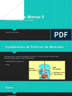 Análisis de Menas II Presentacion
