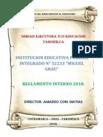 Reglamento Interno 2018 i.e. Mg-c.